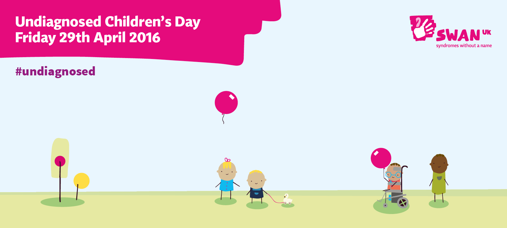 Support SWAN UK on social media this Undiagnosed Children's Day