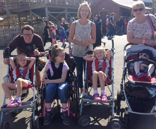 Northern Ireland families visit Tayto Park