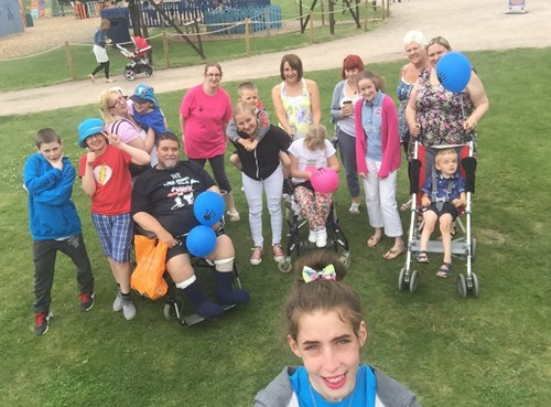 Family day out at Wheelgate Adventure Park