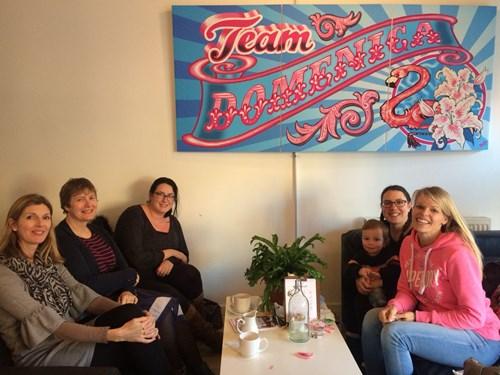SWAN UK families meet for coffee in Brighton