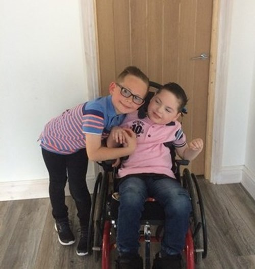 Sibling story – Sean