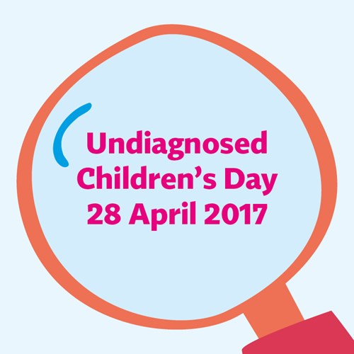 Share our social media images this Undiagnosed Children's Day