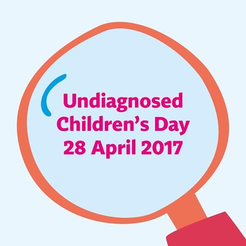 UNDIAGNOSED CHILDREN'S DAY 2017  press release