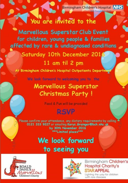 Marvellous Superstar Christmas Party