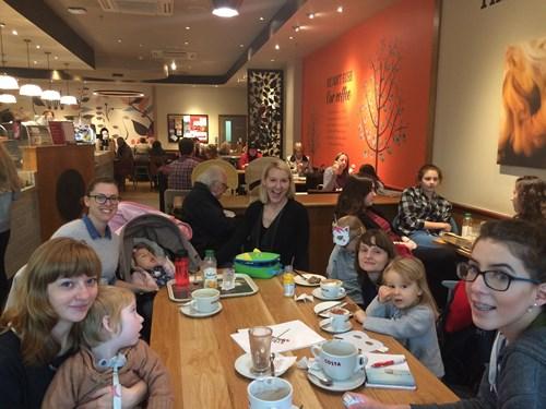 SWAN UK coffee morning in Bristol