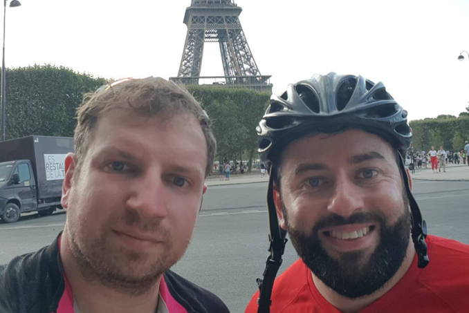 Cycling to Paris for SWAN UK