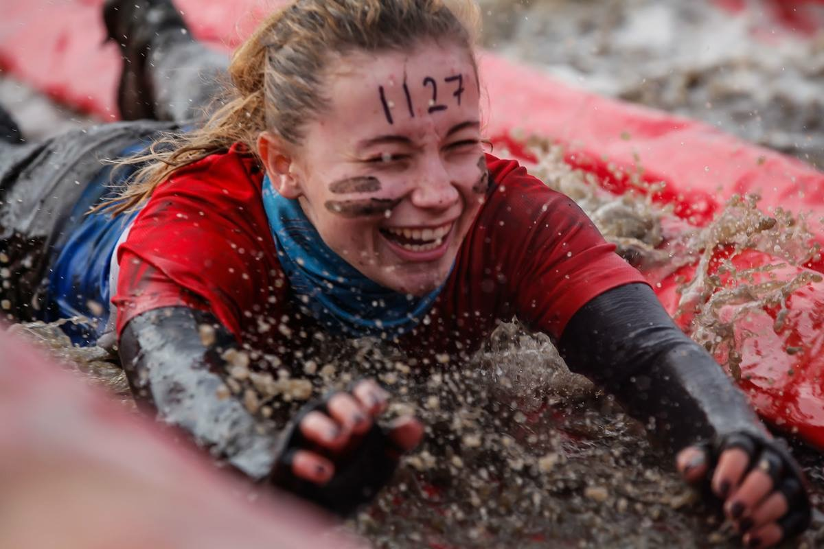 Maddie takes part in the Wolf Run for SWAN UK