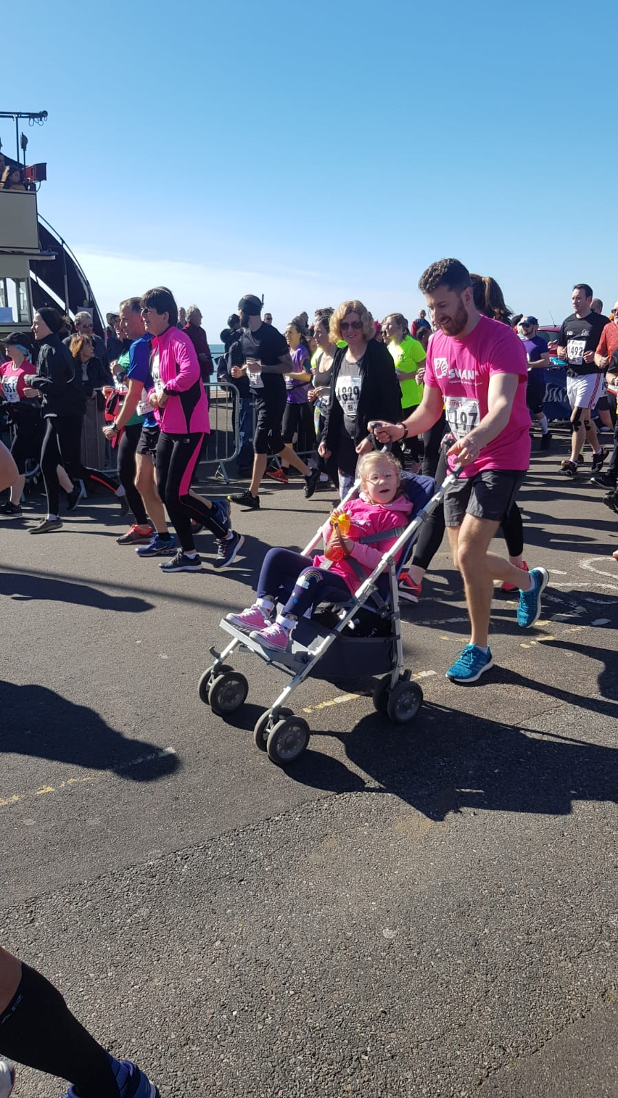 Adam and Millie Run