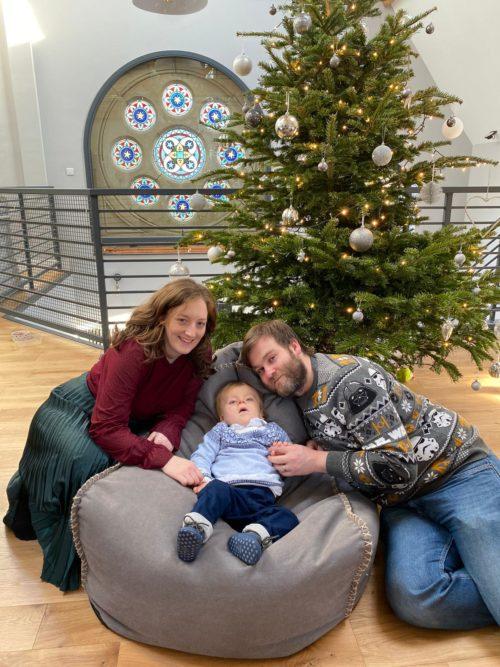 UCD2021 Fraser Family at Christmas